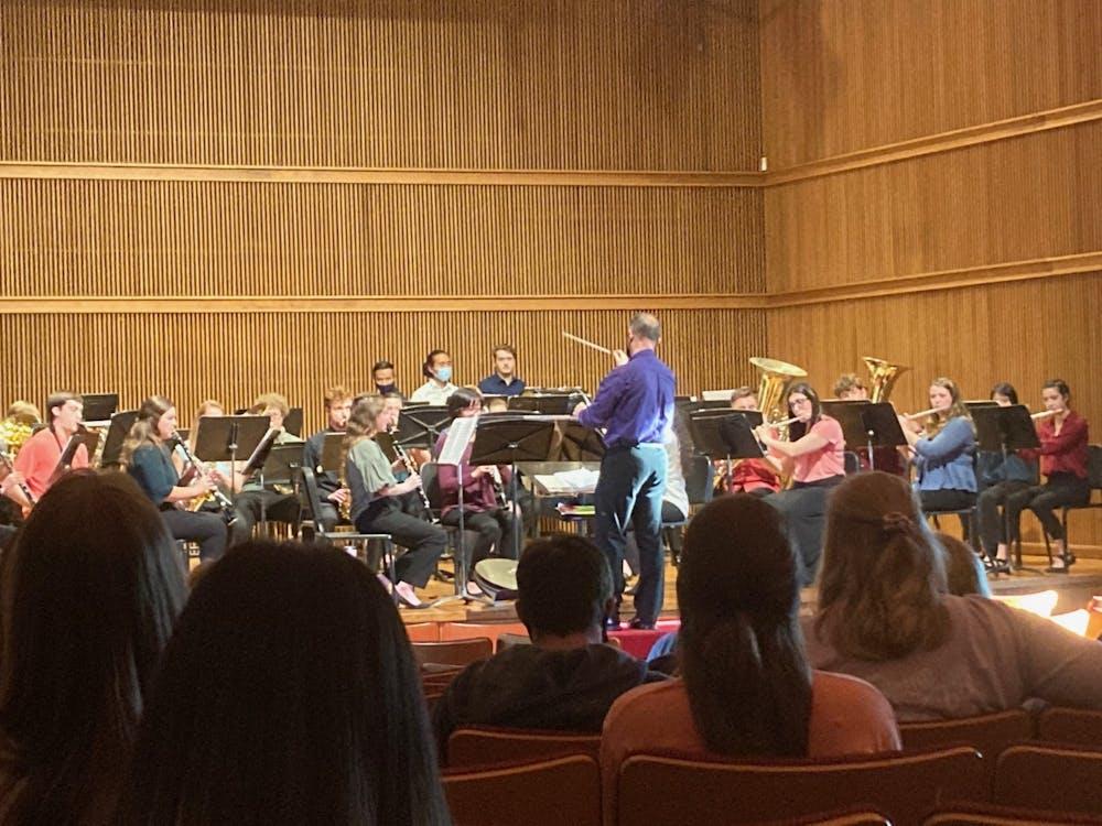 Wind Ensemble glorifies God through music