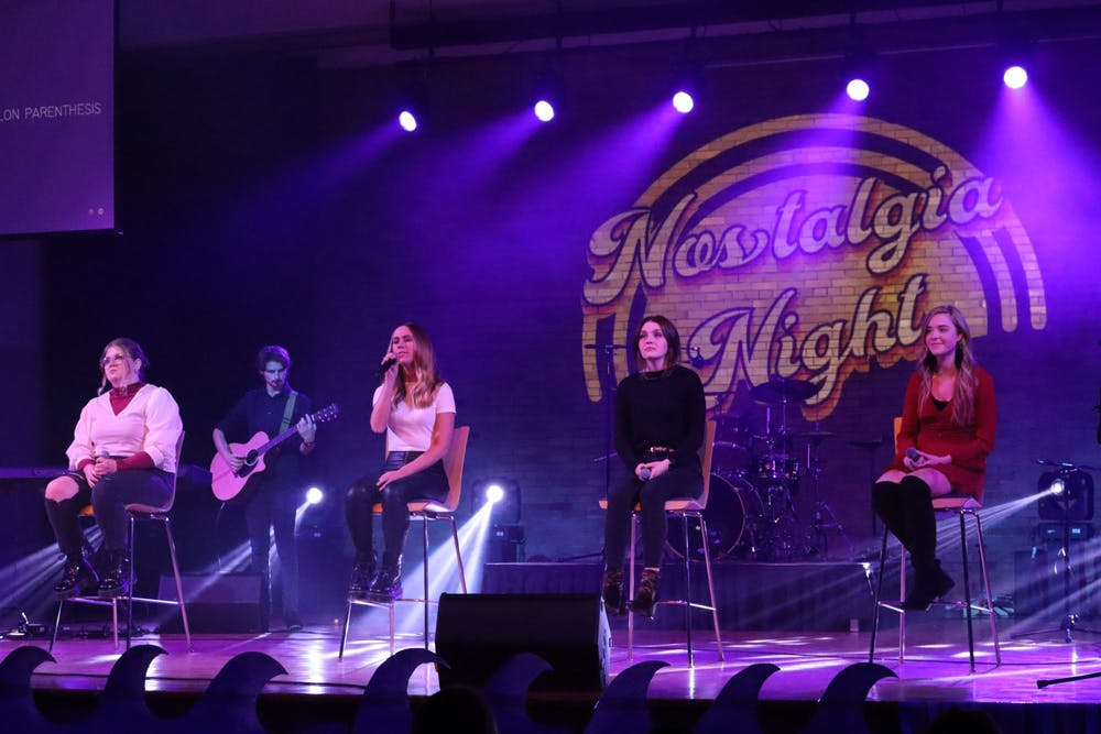 Recapping Nostalgia Night with the performers