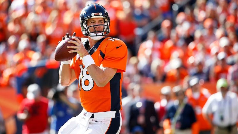 Manning's record-setting 549 career touchdown passes cement his legacy in NFL history.
