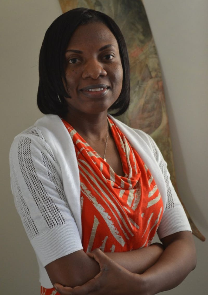 Margaret Allotey-Pappoe, a professor of graphic design and the chair for the art and design department at Mount Vernon Nazarene University. (Photograph provided by Margaret Allotey-Pappoe)