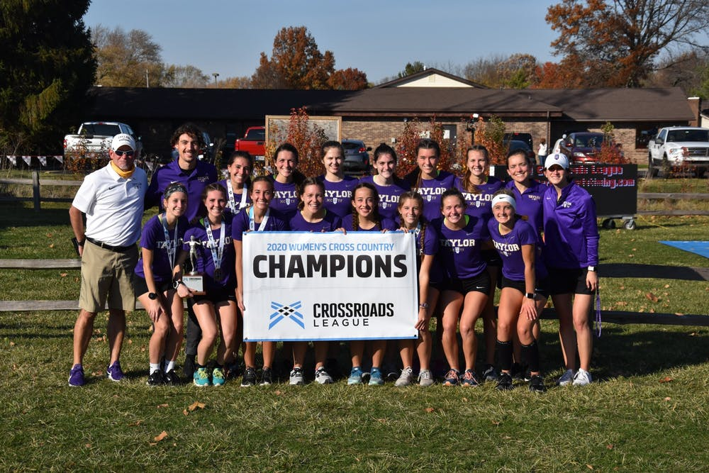 Taylor XC finishes strong in conference championships