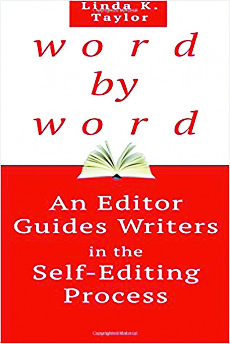 Linda Taylor's newest book covers the basics of the editing world. (Photograph provided by Linda Taylor)
