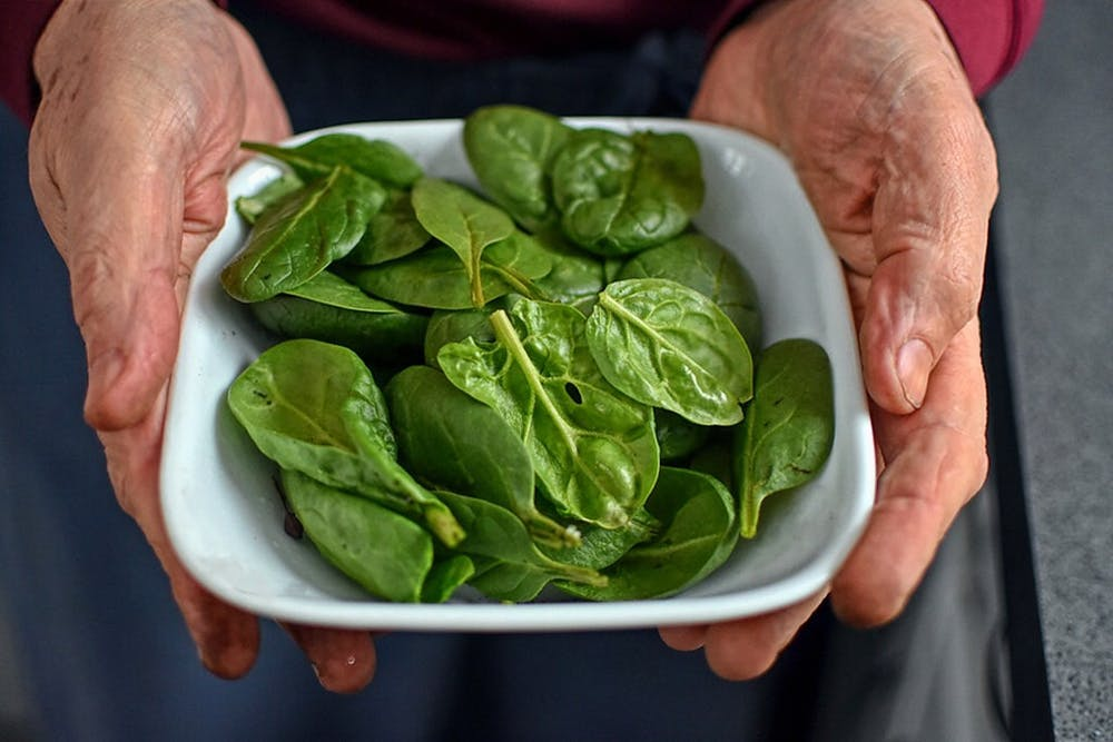Depressed? Anxious? Try eating spinach.