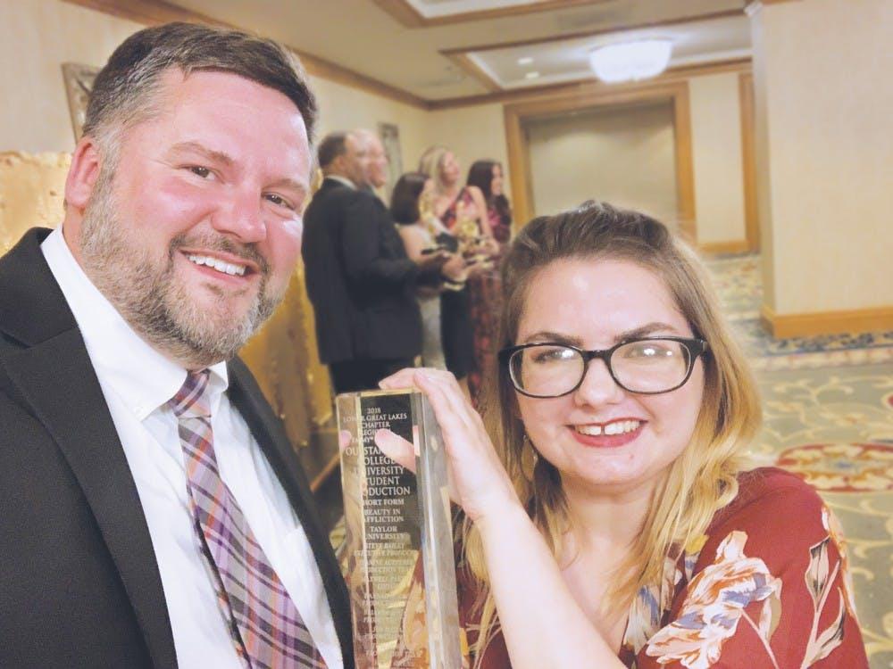 'Beauty in Affliction' wins regional award
