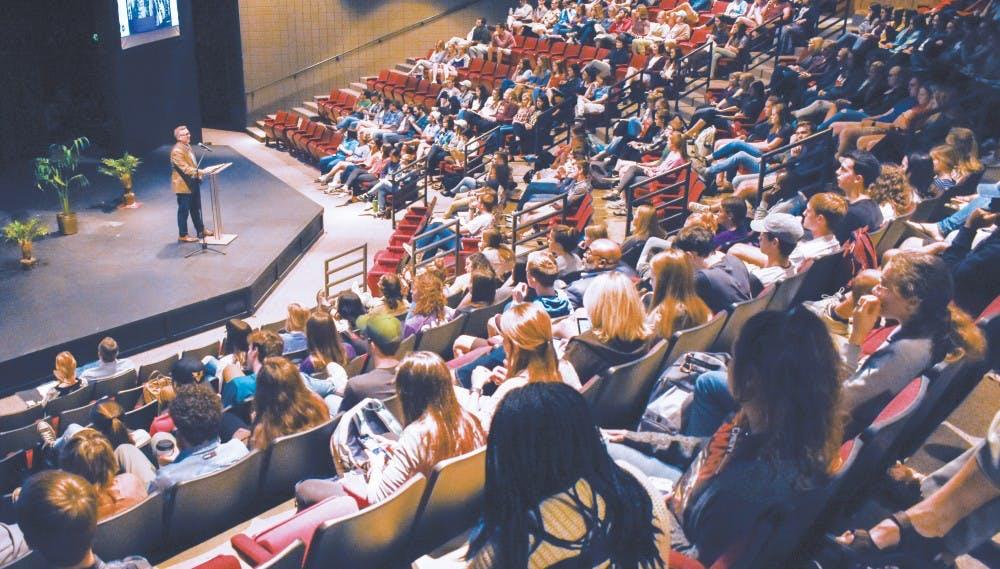 TU Gather promotes discussion