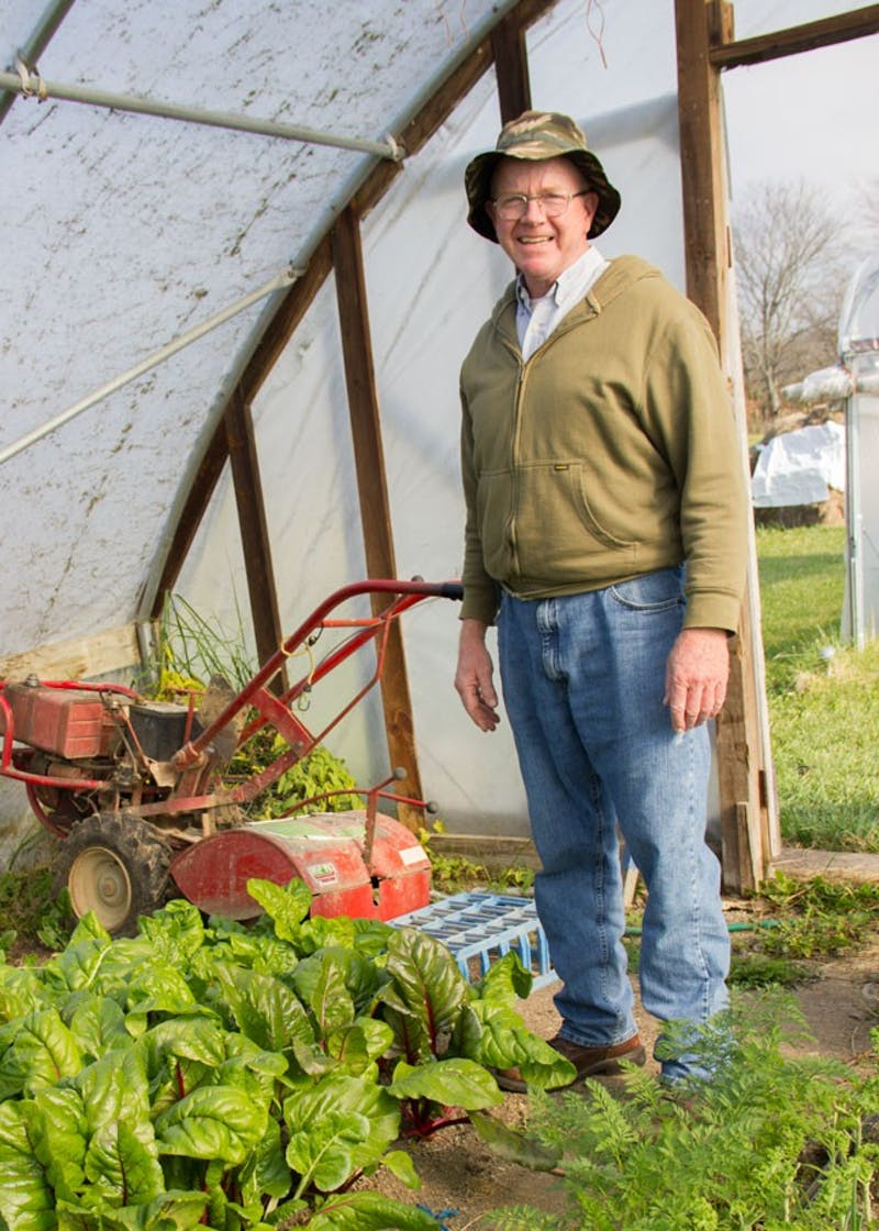 Terry Himelick, farm manager at Victory Acres, has lived in the area his entire life. (Photo by Becca Robb)