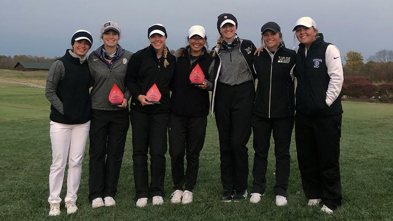 Both the men's and women's golf teams took first at the Purgatory Invitational