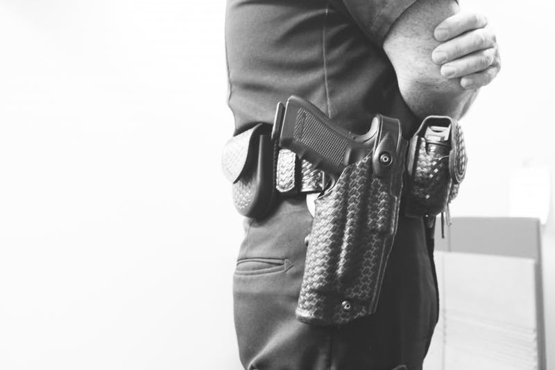 Is reduction of guns the key to fewer gun deaths? (Photo by Hannah Bolds)