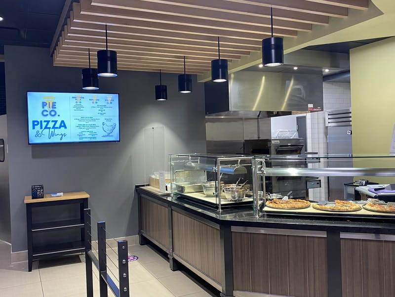 Pie Co. now serves wings and pizza in the Student Center.
