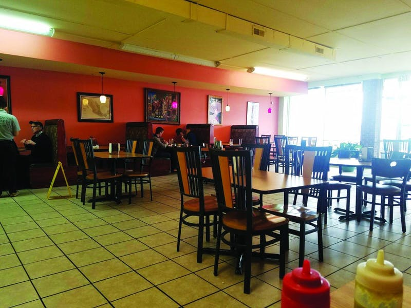 El Taco Express offers a bright and welcoming environment to customers who are looking for a quality taco.