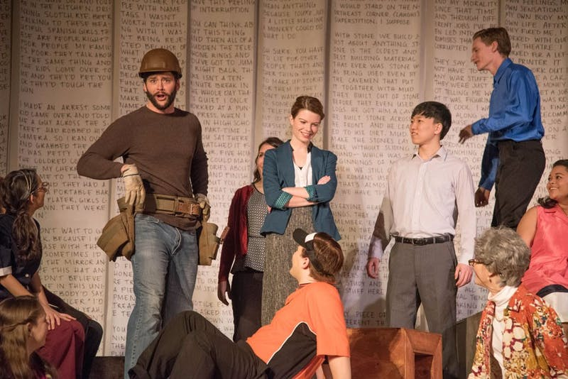"""The cast of """"Working"""" will take the Butz-Carruth Recital Hall stage this Friday."""