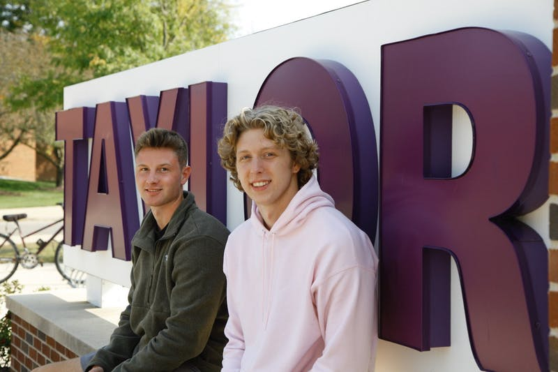 Luke Nordman and Steven Ryan transition into life as Taylor students