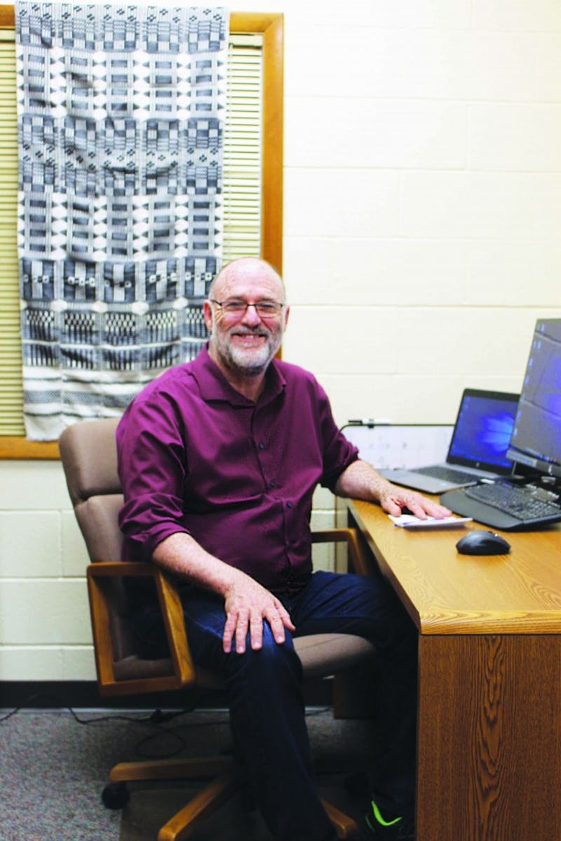 Professor Robert Priest brings expertise to the new anthropology field of study at Taylor. (Photograph by Ruth Orellana)