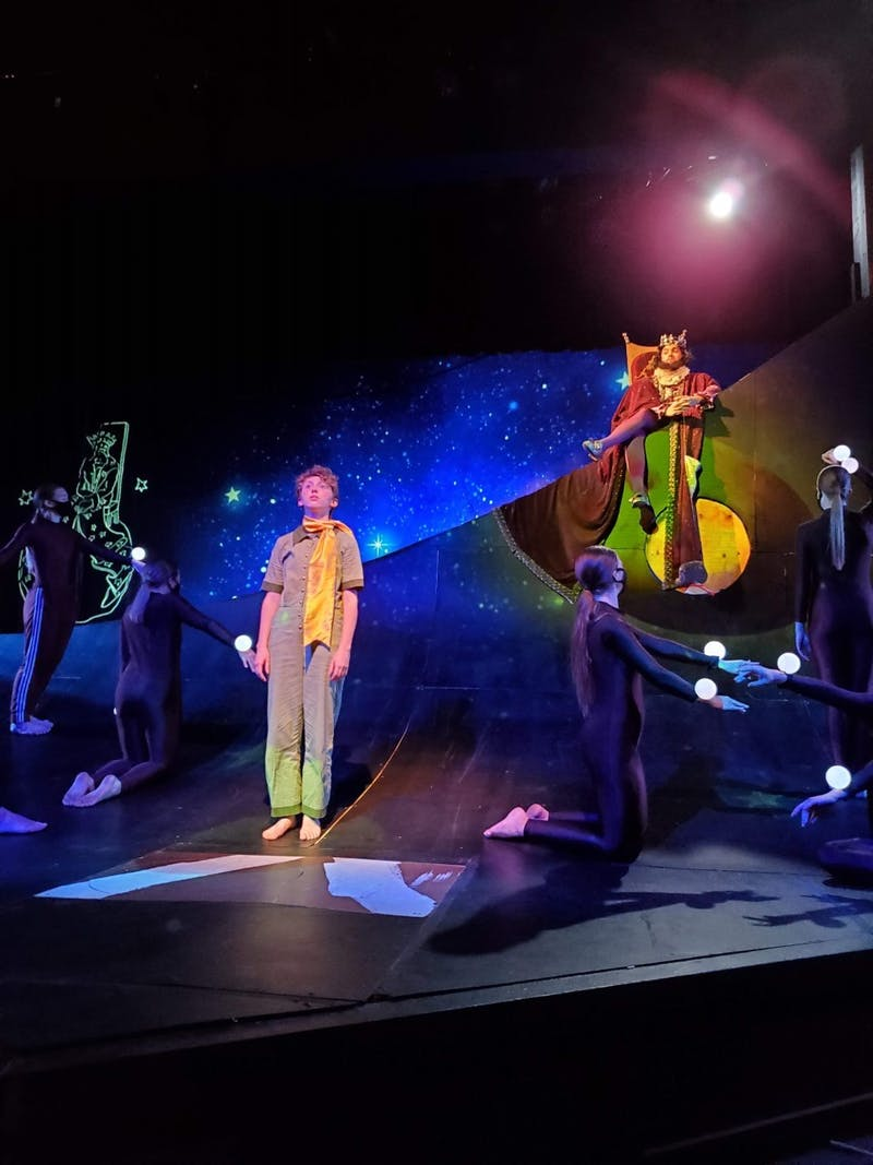 Taylor University's Theatre Department kicked off their performance of 'The Little prince' on Nov. 13. (Photo Provided by Victoria Koro)