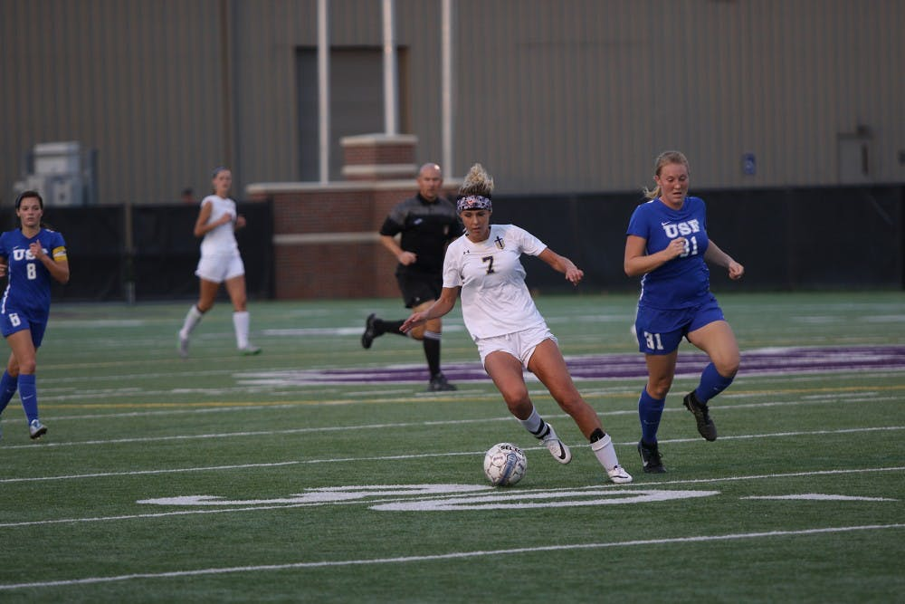 Women's soccer falls to the paws of Saint Francis
