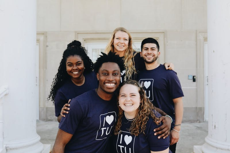 Students participate in the first annual 'I Love Taylor' week.
