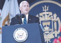 Pence has been tied to discriminatory policy.