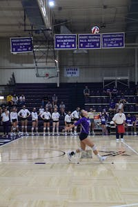 The Trojans opened play last week in Odle Arena