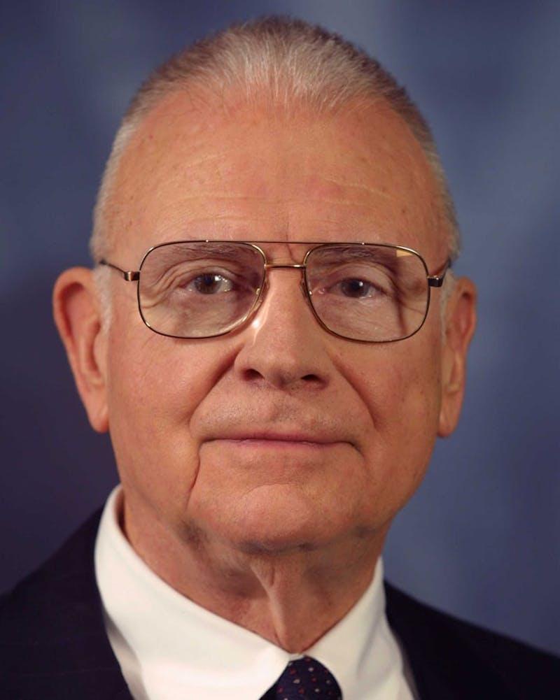 Former Representative Lee H. Hamilton (D-Ind.)