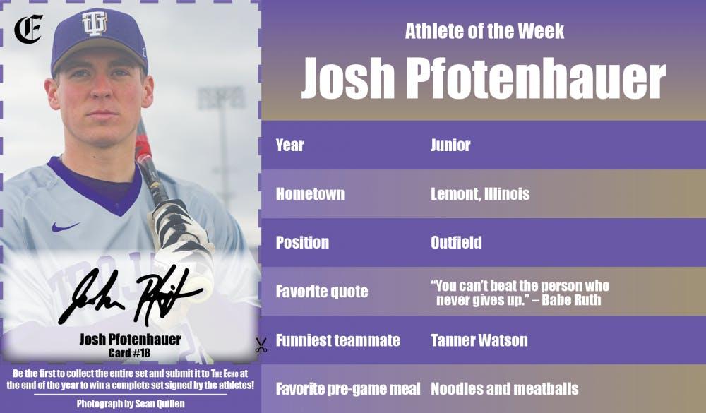 Athlete of the Week – Josh Pfotenhauer