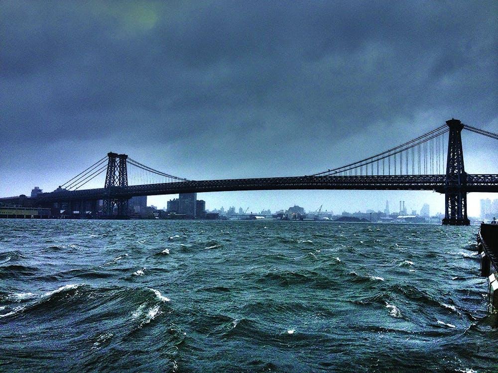 Sandy Strikes Close To Home