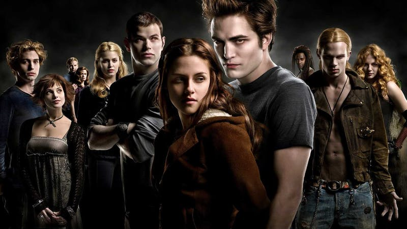 Five movies portray Stephenie Meyer's four book series that follow the plot line of Bella Swan. (Photo provided by Insider.)
