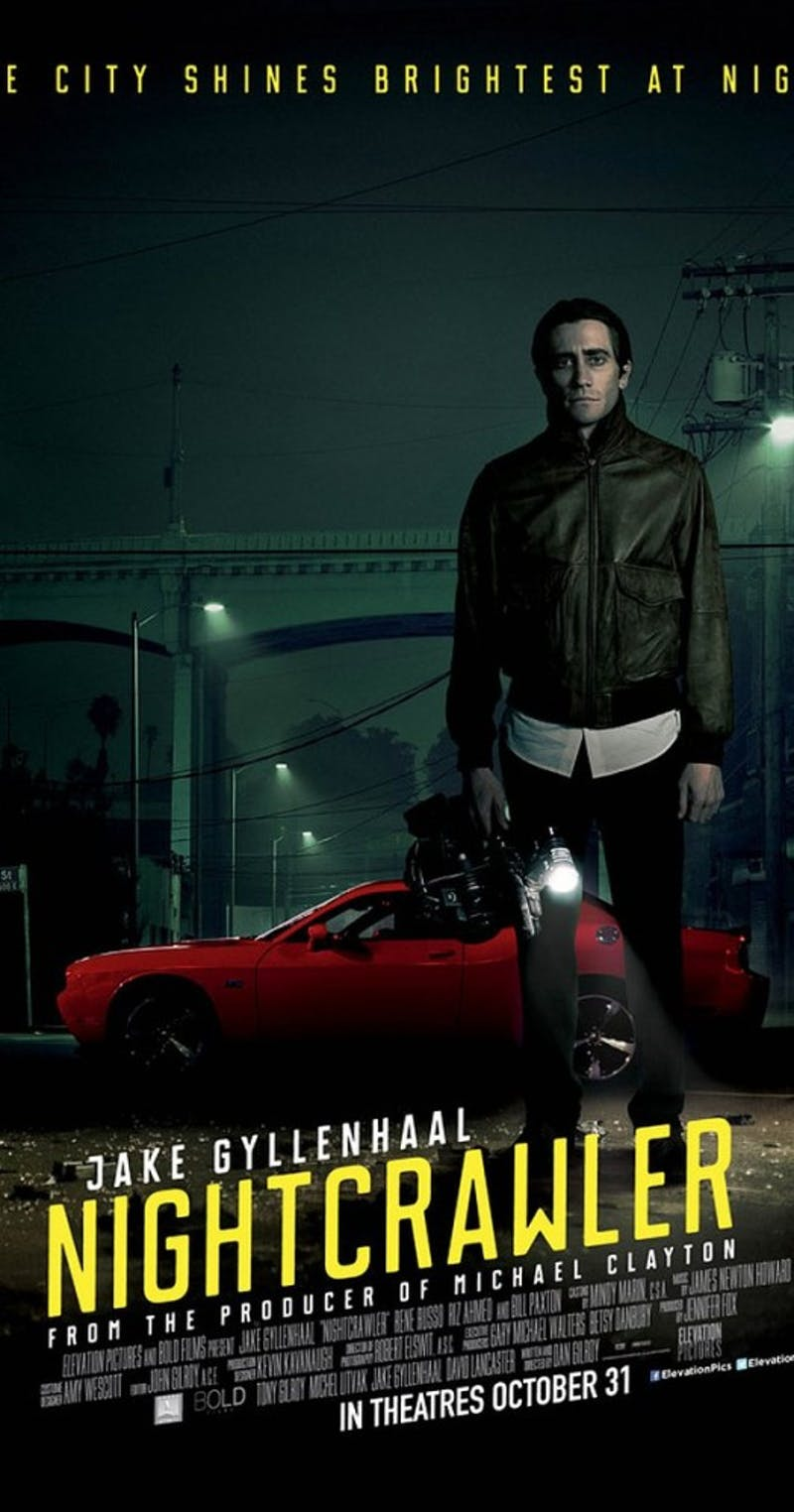 'Nightcrawler' premiered in 2014 as a thriller sure to deliver. (Photograph provided by 'Nightcrawler' Facebook page)
