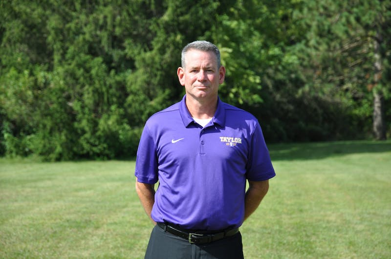 Quinn White serves as both the cross country coach and interim track and field coach, along with his role as a professor of education.