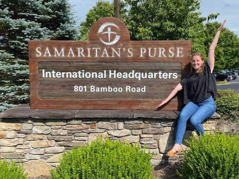 Over the summer, senior Rose White interned with Samaritan's Purse.
