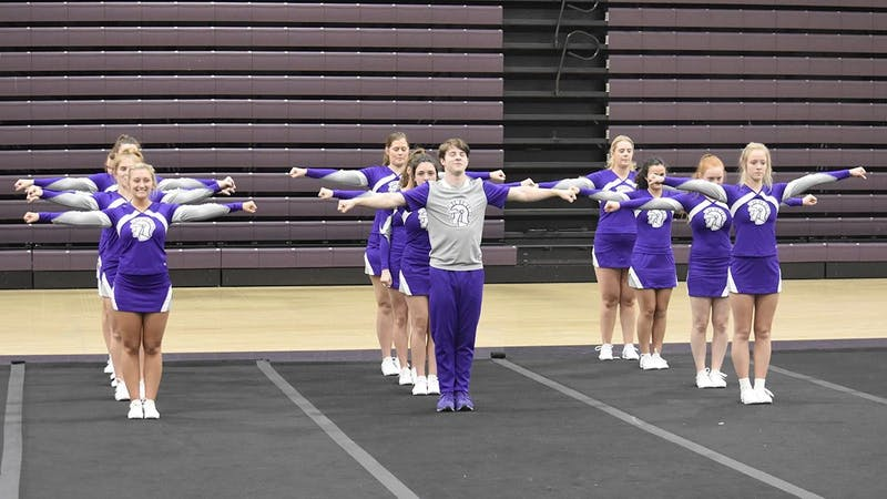 Competitive cheer competed in one event on the season, before COVID-19 complications.