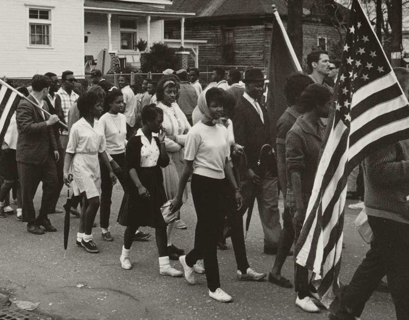 Many participated in the Selma march and hoped for a change.