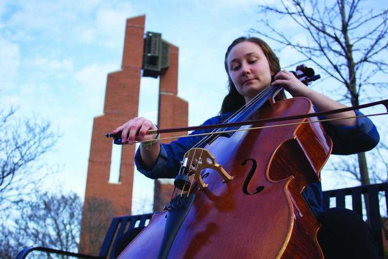 High school and college students will perform in the same concert on Thursday, March 15. (Photograph by Alicia Garnache)
