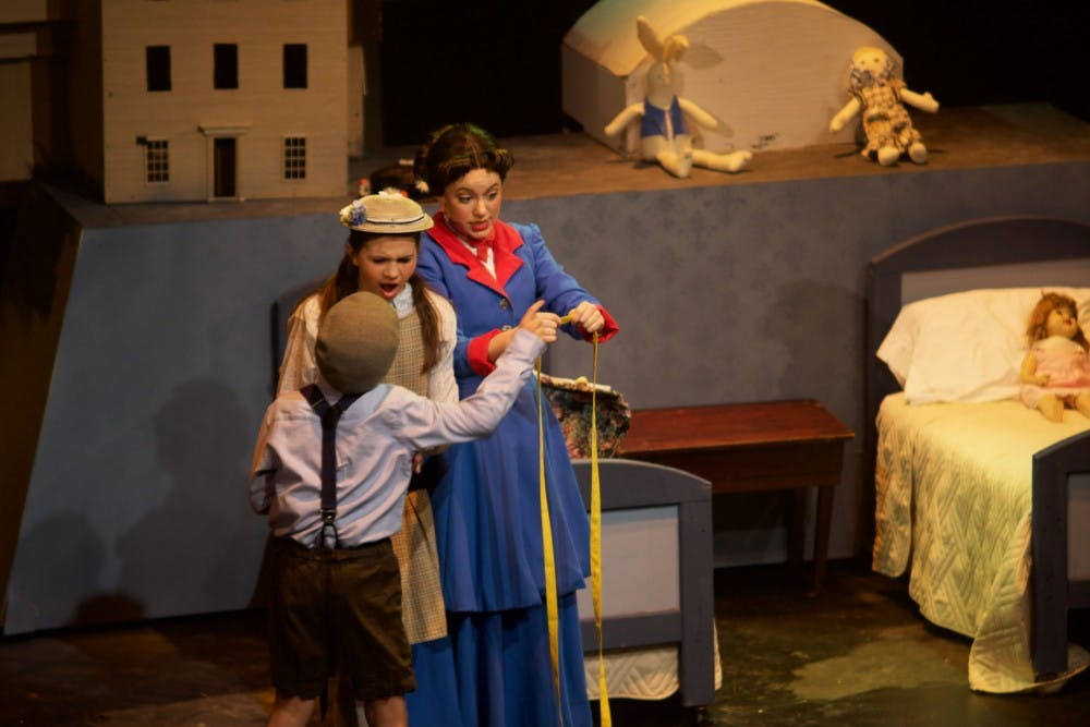 'Mary Poppins' flies in with joy and magic