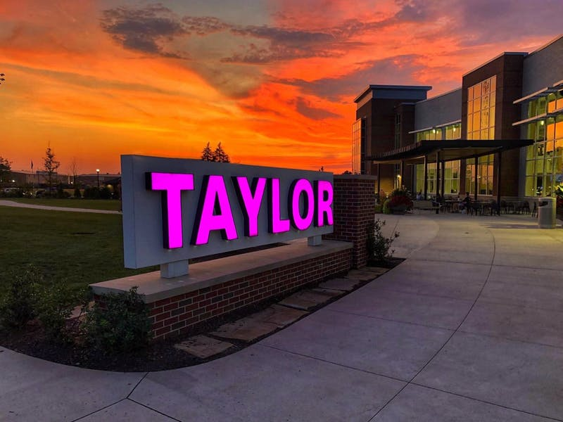 Taylor has moved to two schools, the school of natural and applied sciences and the school of arts, biblical studies, and humanities.