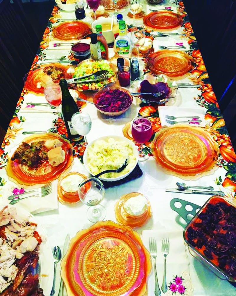 With exquisite-looking dishes such as these, it's hard to imagine executing one's own Thanksgiving plans without a mishap. (Photograph provided by Jennifer Moore)