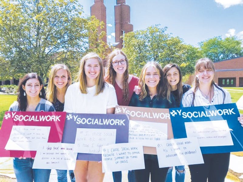 Taylor's social work department has been named first in Indiana by SocialWorkDegree.org.
