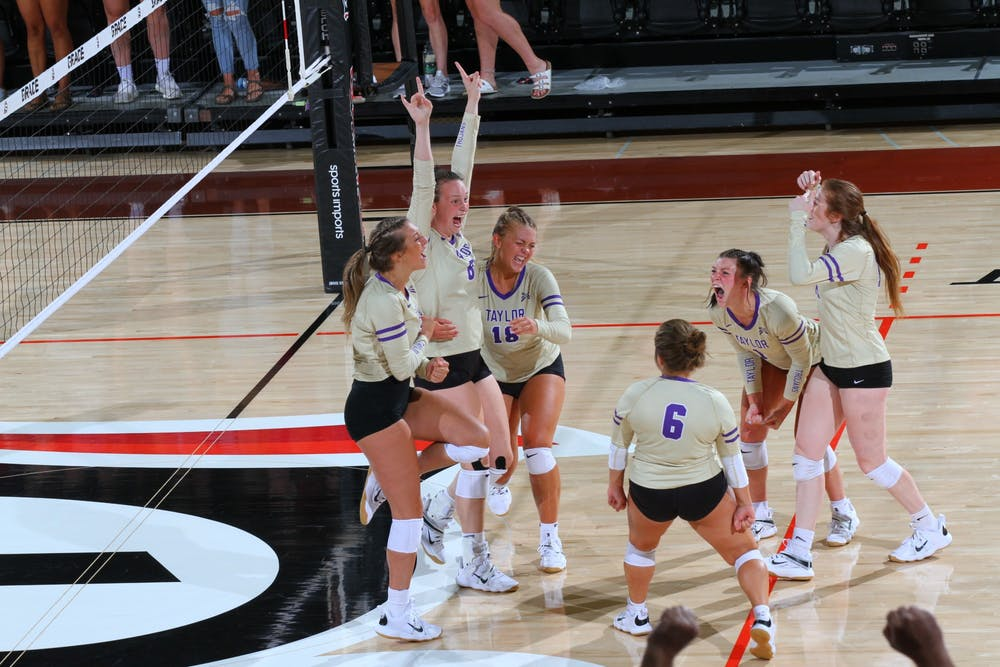 Volleyball off to a blistering start
