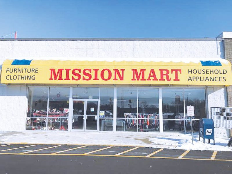 Mission Mart will soon be moving location and rebranded as ReNewed Boutique and Thrift. Photo provided by Google.