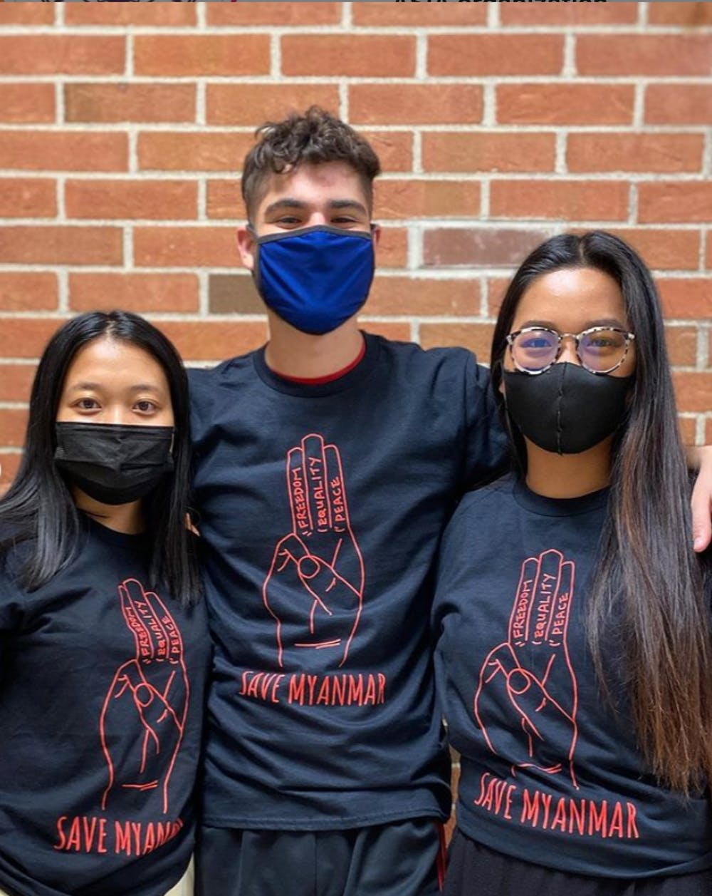 Asian students respond to shootings