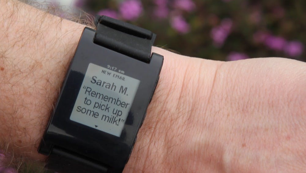 Tech Time—it's now on your wrist