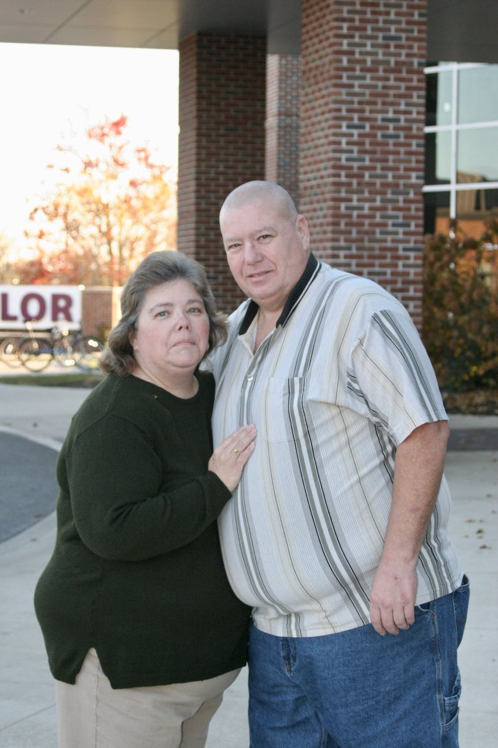 Couple On-Mission in the Student Center