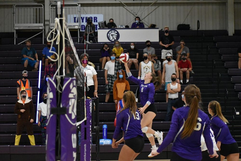 Sammy II continues volleyball tradition
