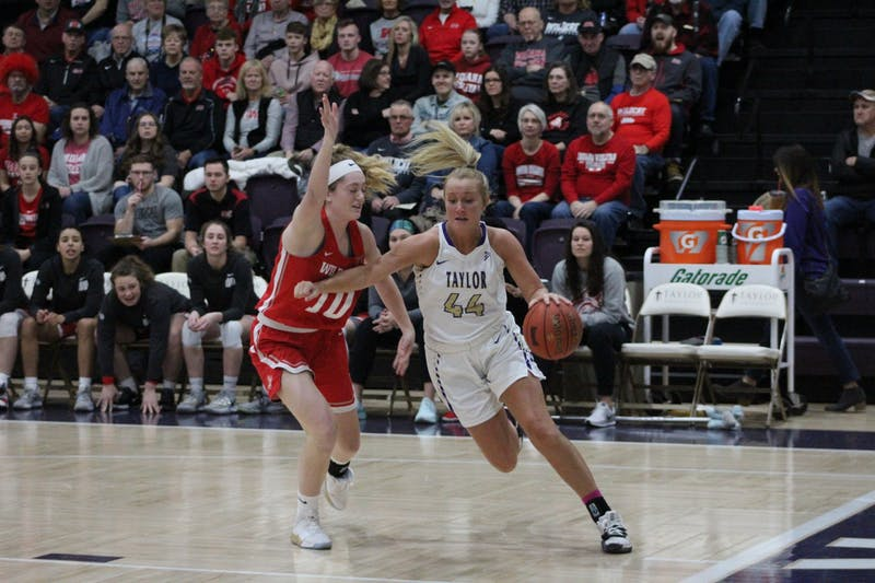 Becca Buchs had 27 points in the win over Indiana Wesleyan