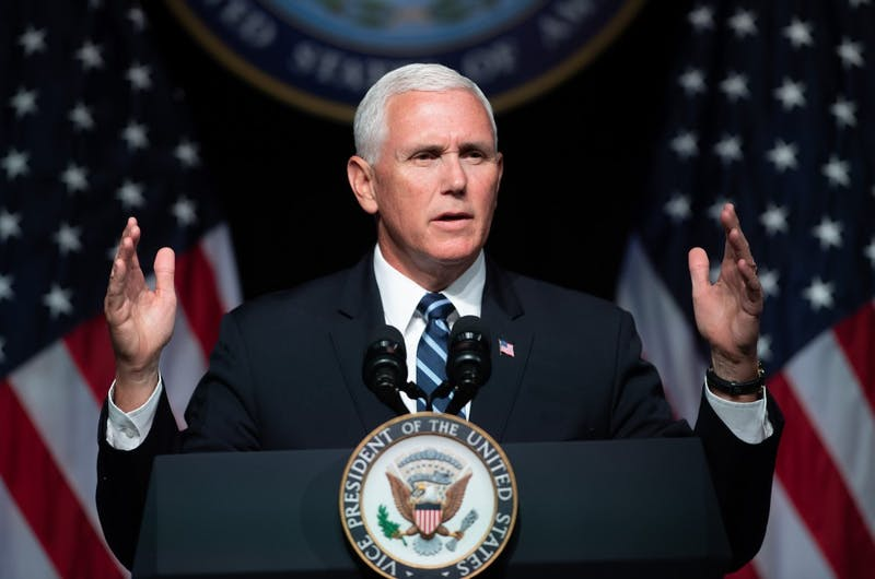 Vice President Mike Pence was announced as the 2019 commencement speaker on April 11.