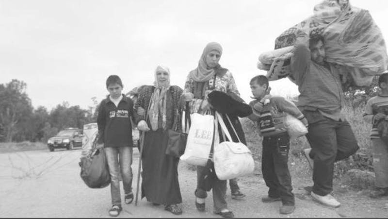 Displaced from their homes, many Syrian refugees do not know where to turn.