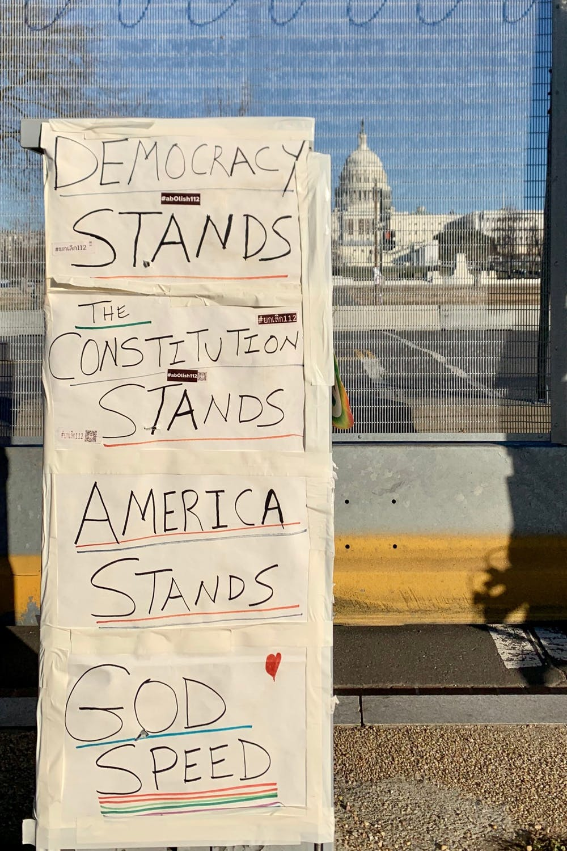 Capitol faces Insurrection, Inauguration