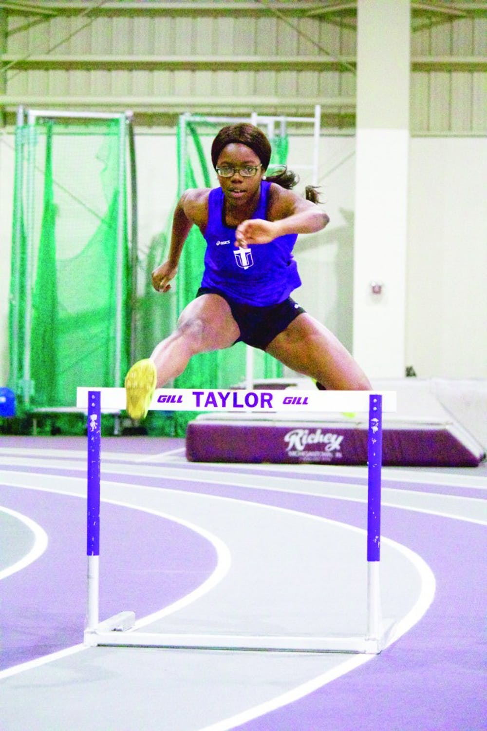 Track and field is showing off their talent
