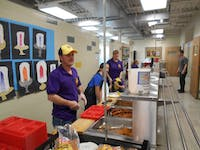Upland Lions Club President Cindy Wright has led the weekend meals program since it started in 2013.