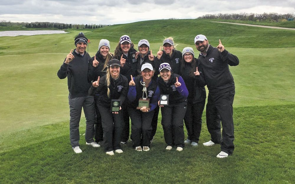 Women's golf swings their way to victory
