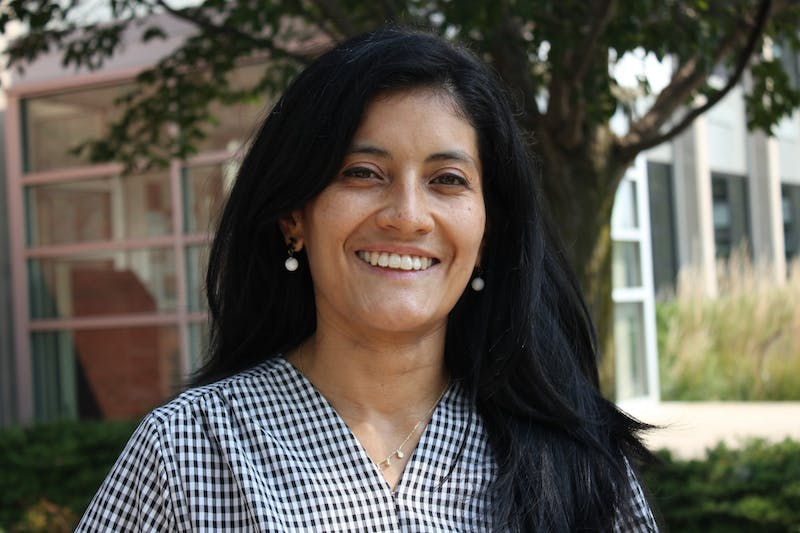 Angela Pacheco-Gonzalez is the assistant professor of Spanish at Taylor.